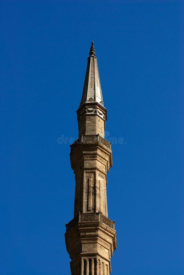 Detalhes de Mohamed Ali Mosque no Cairo Egipto fotografia de stock