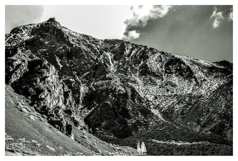 Detalhes de montanhas imagem de stock