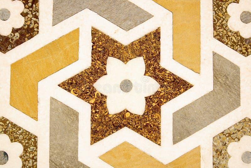 Detalhes de superfície de mármore lustrada. imagens de stock