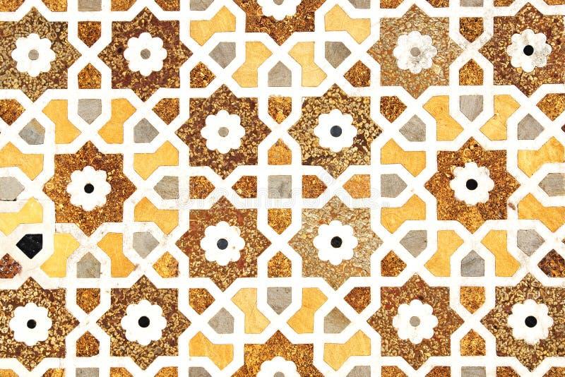 Detalhes de superfície de mármore lustrada. ilustração stock