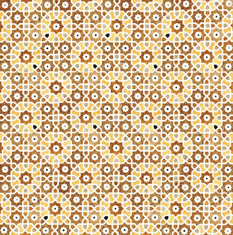 Detalhes de superfície de mármore lustrada. ilustração do vetor