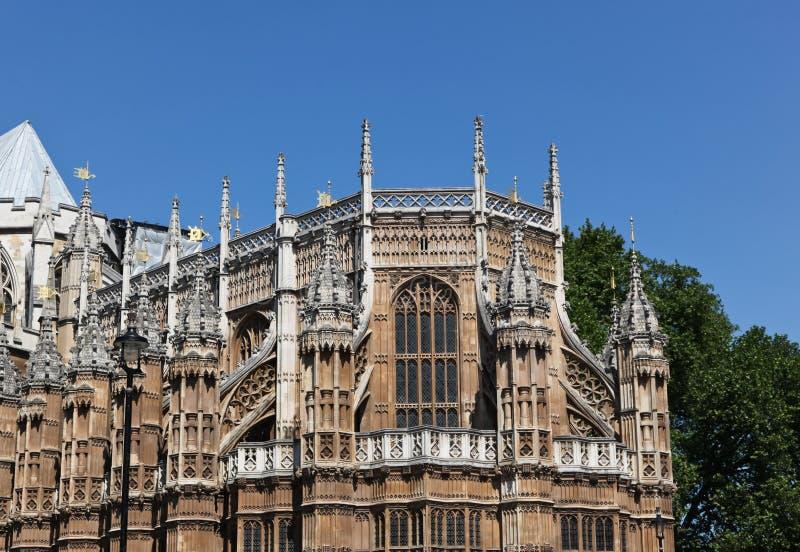 Detalhes de Westminster Abby imagens de stock royalty free