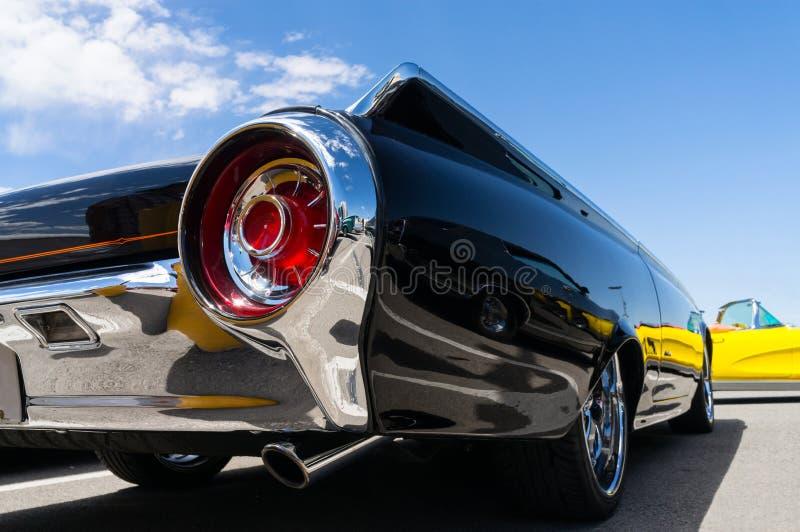 Detalhes do automóvel do vintage fotos de stock royalty free