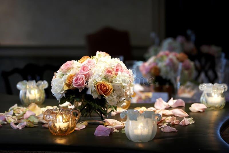 Detalhes do casamento imagens de stock