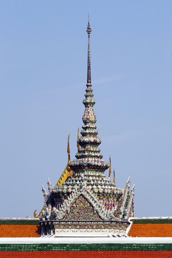 Detalhes Do Wat Phra Kaeo Foto de Stock Royalty Free