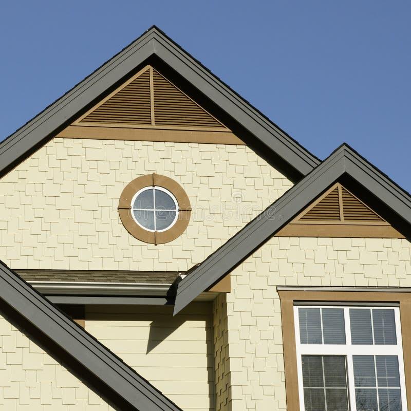 Detalhes exteriores Home fotos de stock royalty free