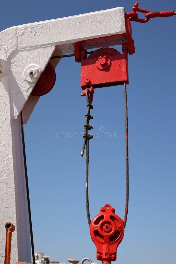 Detalhes pitorescos do navio fotos de stock royalty free