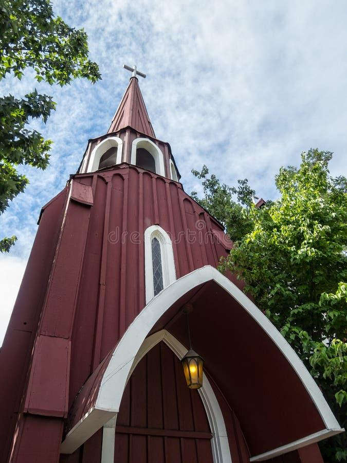 Detalhes, St James Episcopal Church, Sonora, Califórnia foto de stock