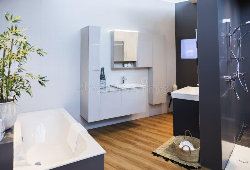 Detalj av badrumgarnering royaltyfria foton