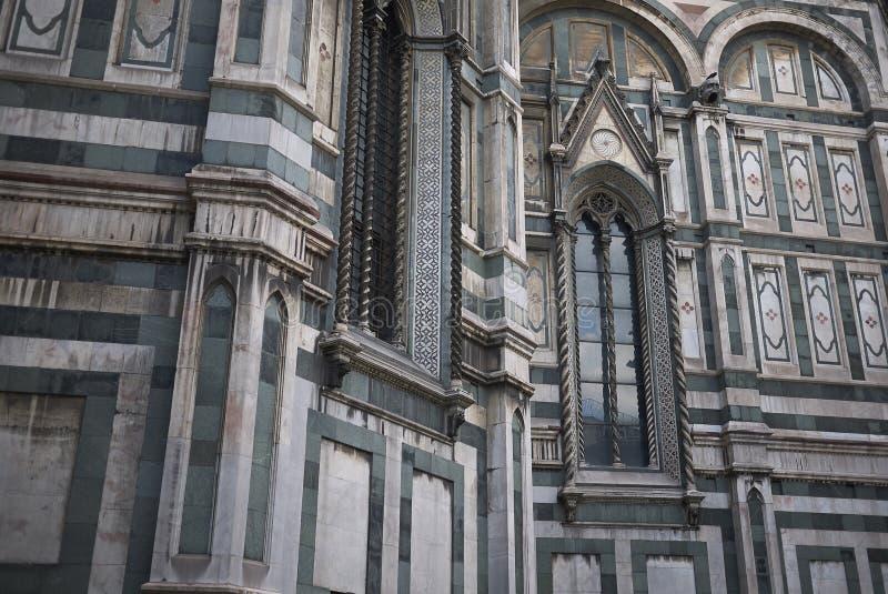 Detalj av den Florence domkyrkan royaltyfri foto