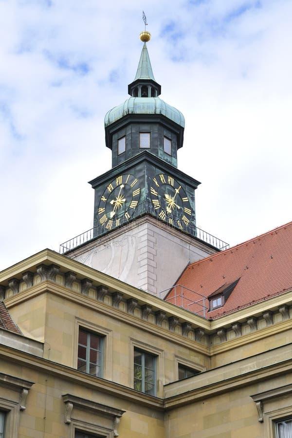 Detalj av den Residenz slotten i Munich arkivbild