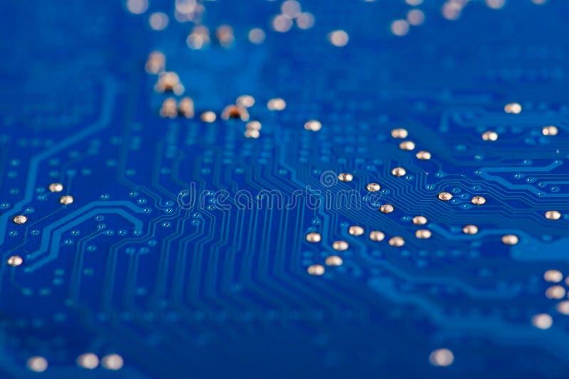 Detalj av det elektroniska brädet arkivfoton