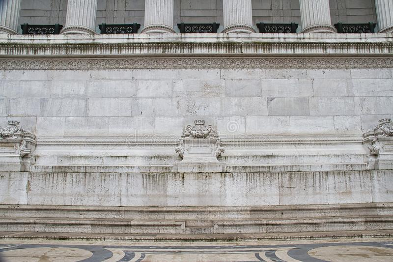 Detalj av en marmormonument royaltyfria bilder