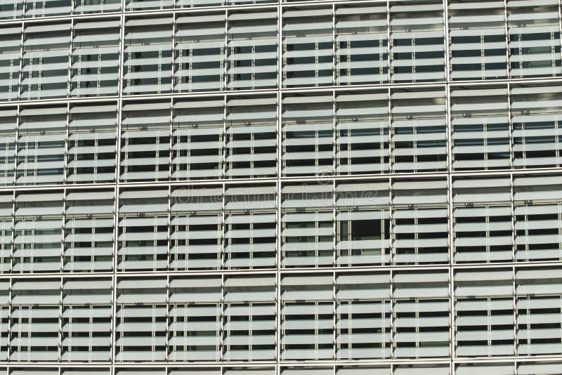 Detalj av fasaden av en byggnad i Bryssel arkivbilder