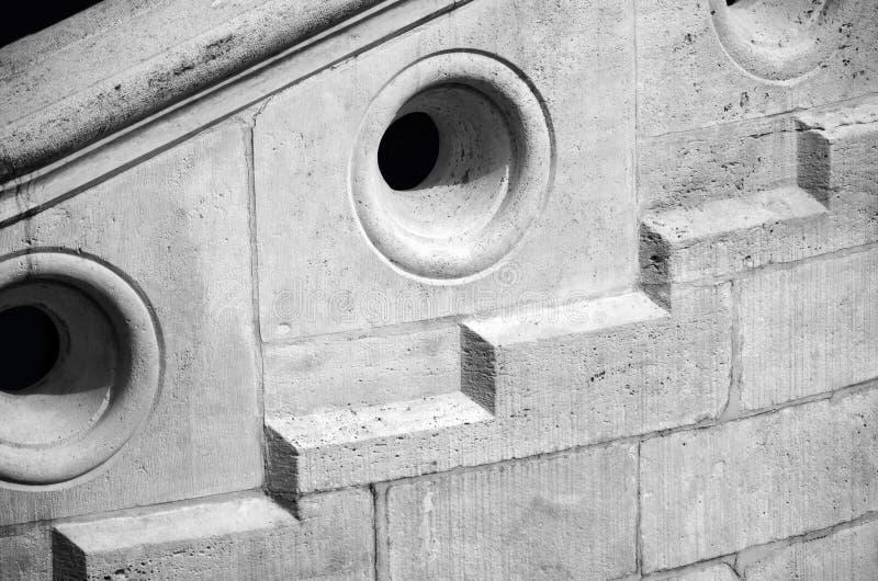 Detalj av momenten av Buda Castle fotografering för bildbyråer