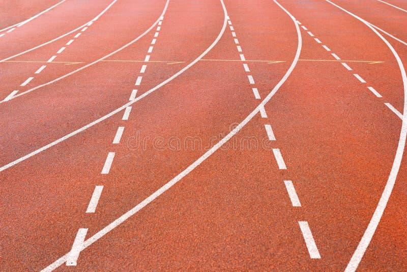 Detalj av sportspåret fotografering för bildbyråer