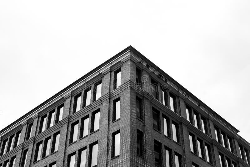 Detalj av tegelstenbyggnad royaltyfri foto