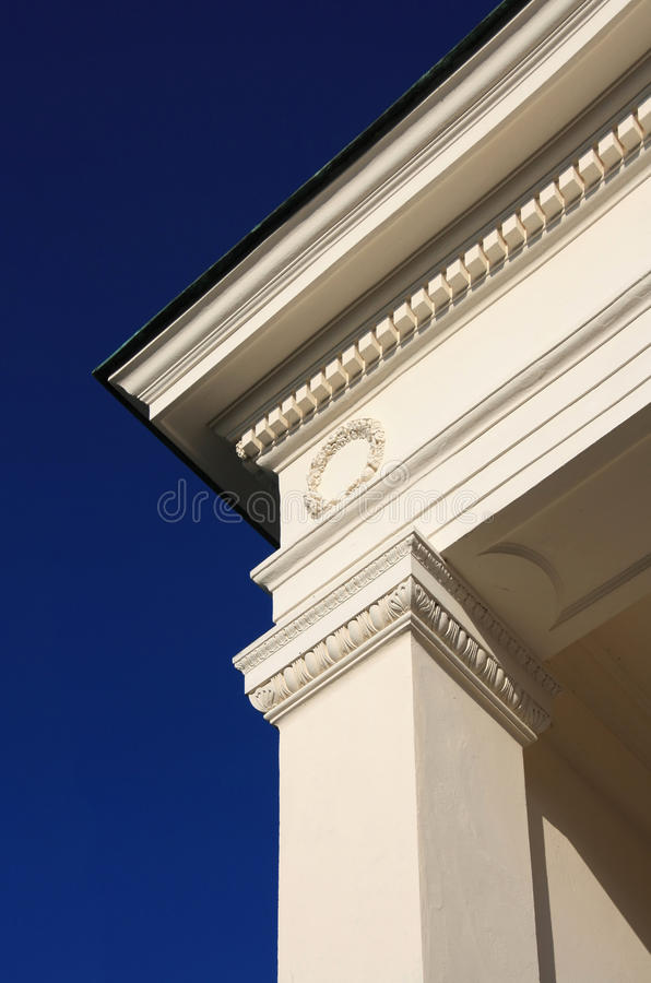 detalj för 2 kolonn arkivbild