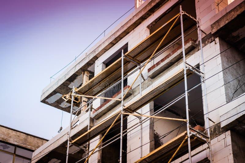 Detalj för byggnadskonstruktion arkivbilder