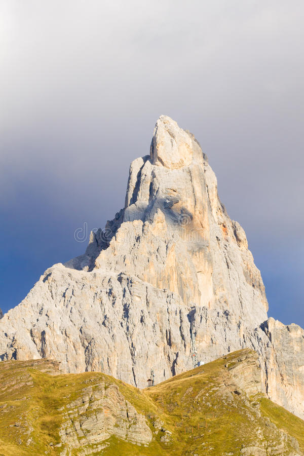 Detalj för högt berg royaltyfri foto