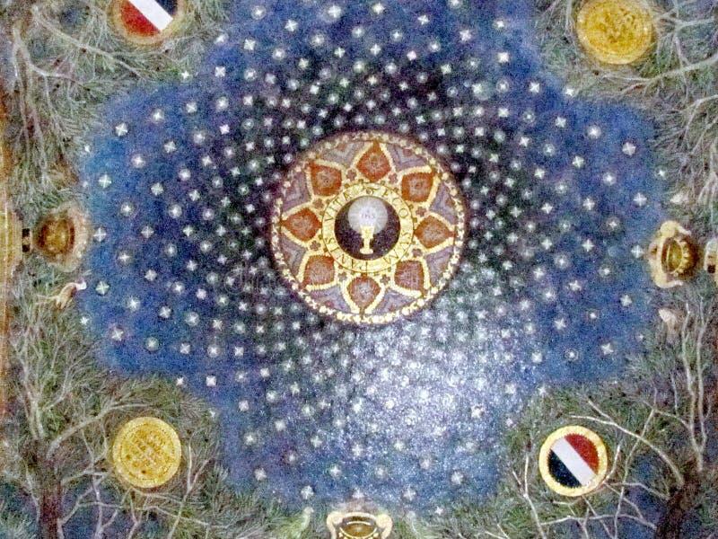 Detalj 2012 för nationer för Jerusalem kyrka allra inre arkivfoto