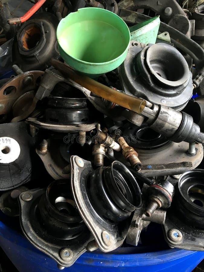 Detalj för service för auto reparation royaltyfria bilder