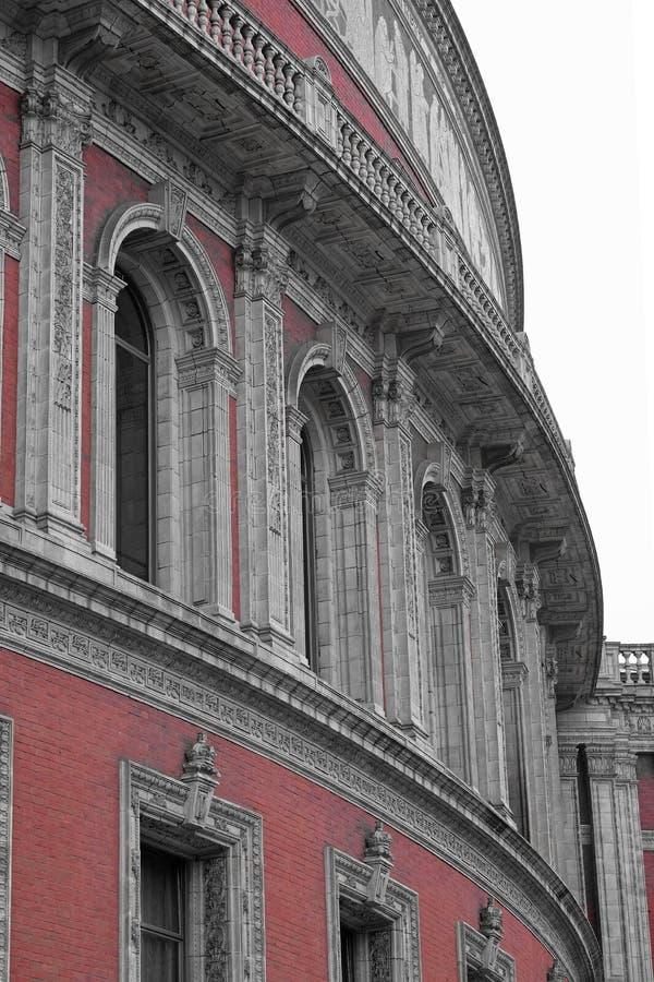 Detalj från en klassisk musikmötesplats i London fotografering för bildbyråer