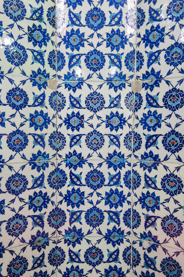 Detalj i gravvalv av Sultan Suleiman I Istambul Turkiet arkivbilder