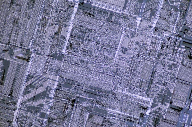 detaljen matris processorsilikoner royaltyfri fotografi