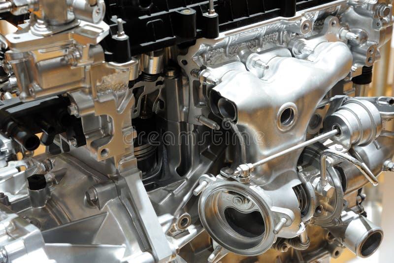 Detaljer av bilmotorn fotografering för bildbyråer