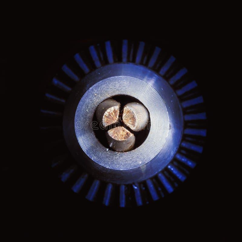 Detaljer av en drillborr fotografering för bildbyråer