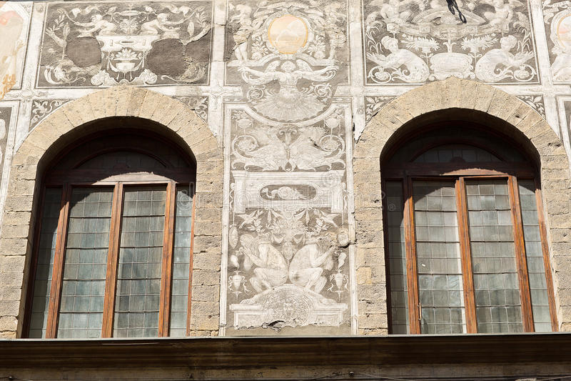 Detaljer av Florence Italy royaltyfri fotografi