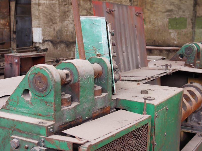 Detaljer av maskiner och enheter royaltyfri foto