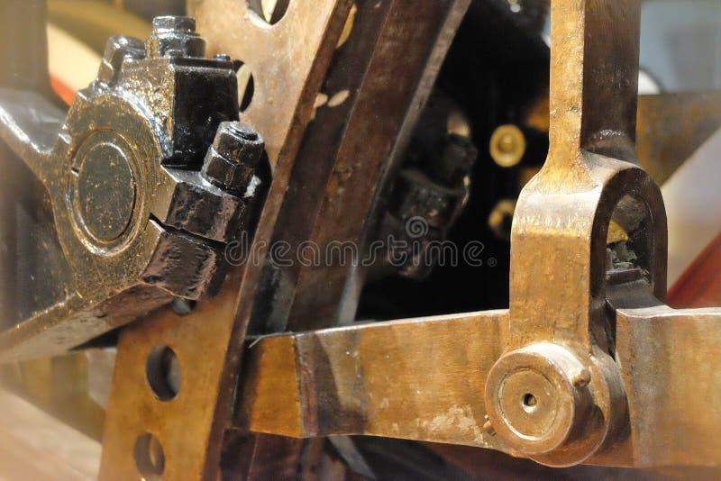 Detaljer av mekanismen royaltyfri fotografi
