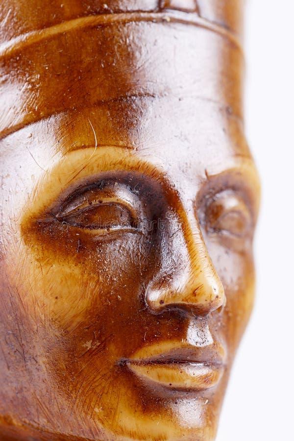 Detaljer av statyn av farao royaltyfri bild
