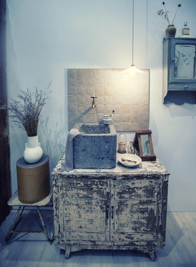 Detaljer om toalettrummet royaltyfri foto