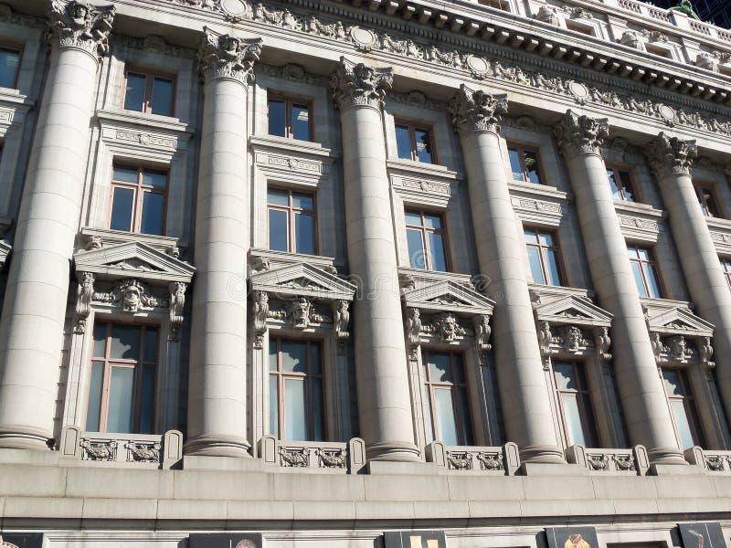 Detaljerad New York byggnad royaltyfria bilder