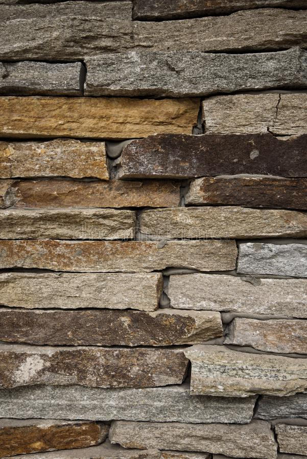 detaljerad verklig sten för bakgrund mycket Vägg för dekorativ sten, sandstentextur, murverkbakgrund för design Lodlinjen avbilda fotografering för bildbyråer