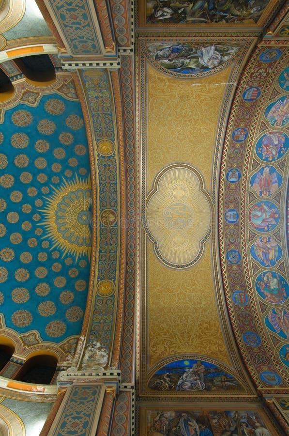 detaljerat votive för takkyrka royaltyfri foto