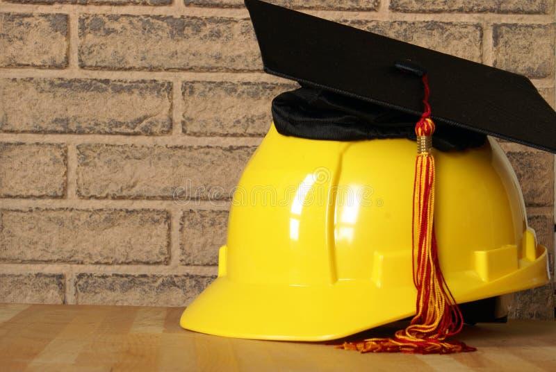 Detaljhandlare Graduatiing Success arkivfoton
