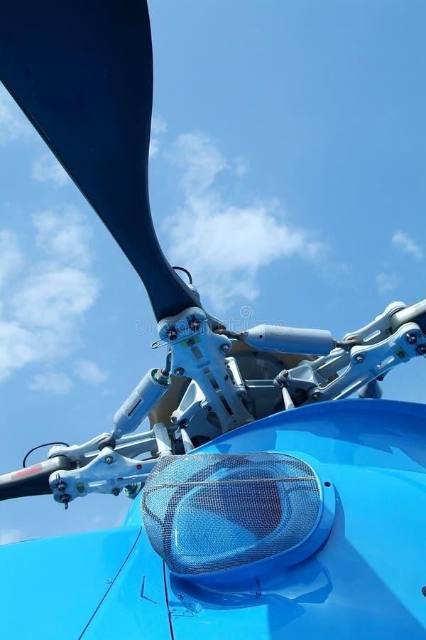 detaljhelikopterrotor arkivfoto
