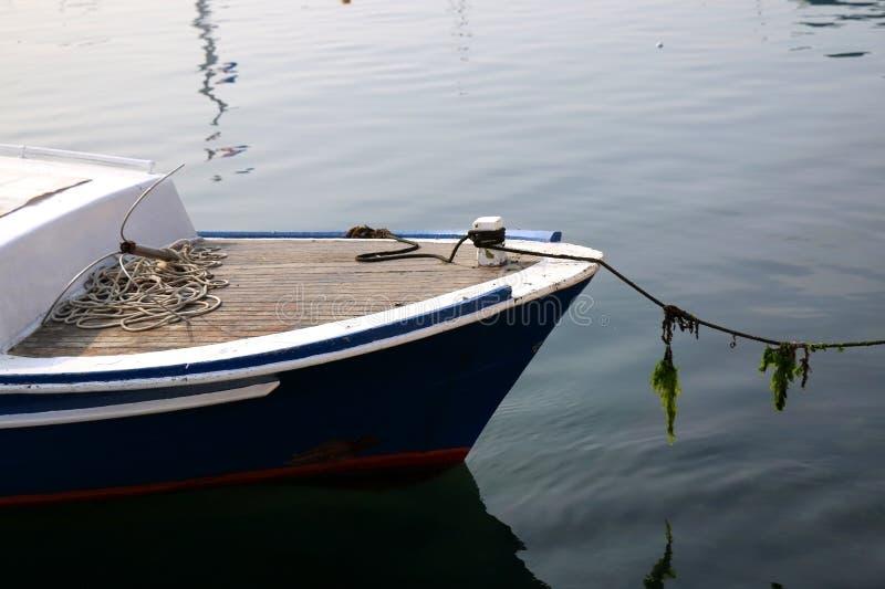 detaljmexico för blått fartyg karibiskt vatten royaltyfria bilder