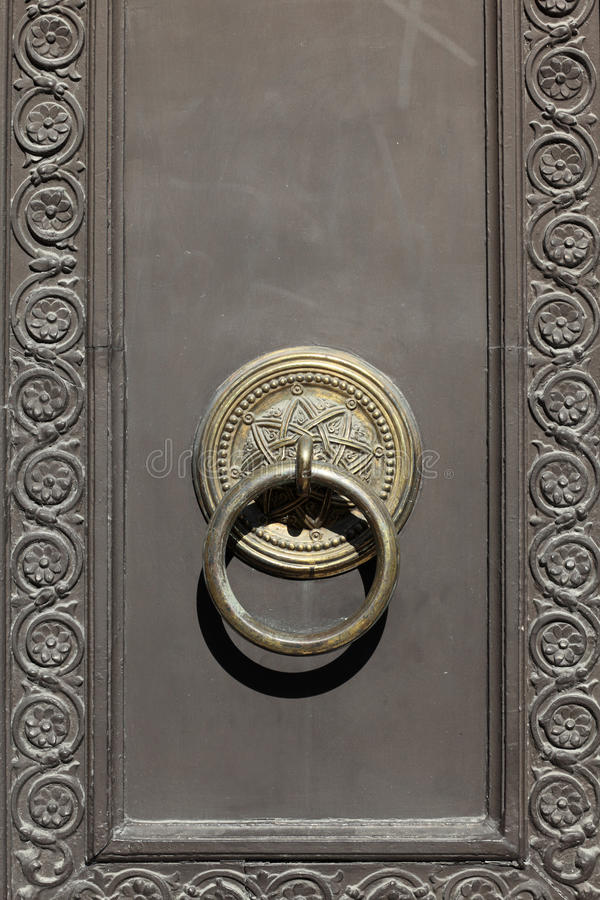 Detalla la puerta del palacio árabe fotos de archivo libres de regalías