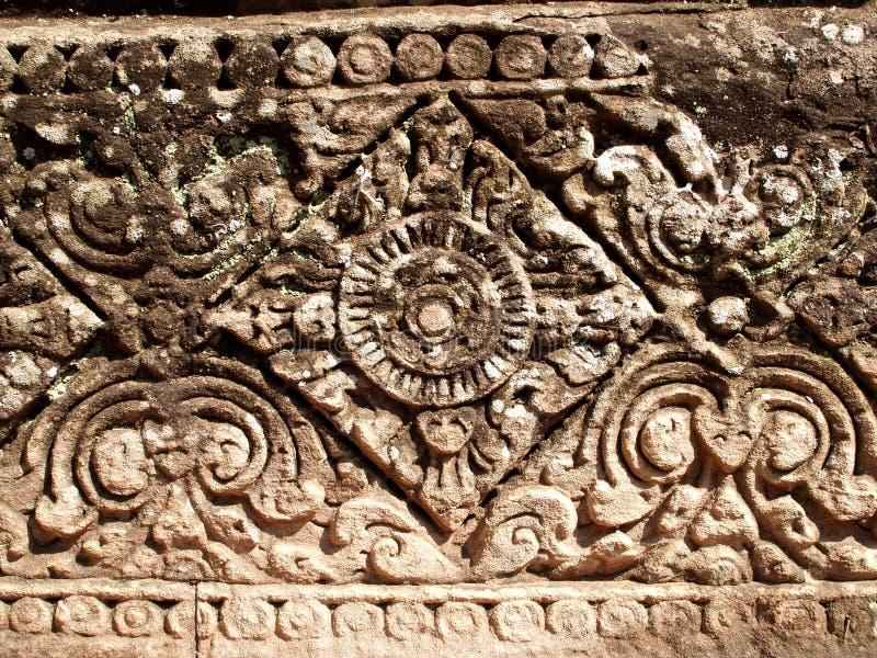 Detalle 03 del templo de Angkor fotos de archivo