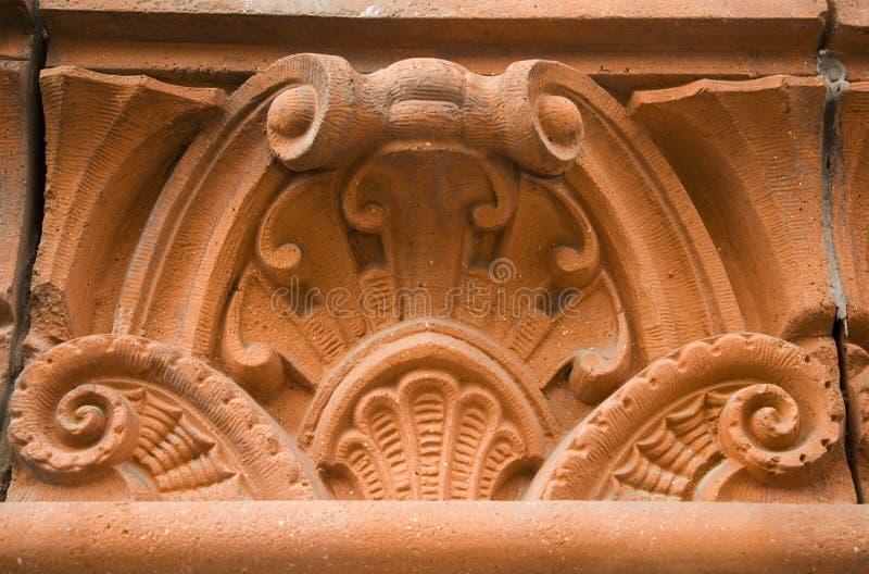 Detalle arquitectónico foto de archivo