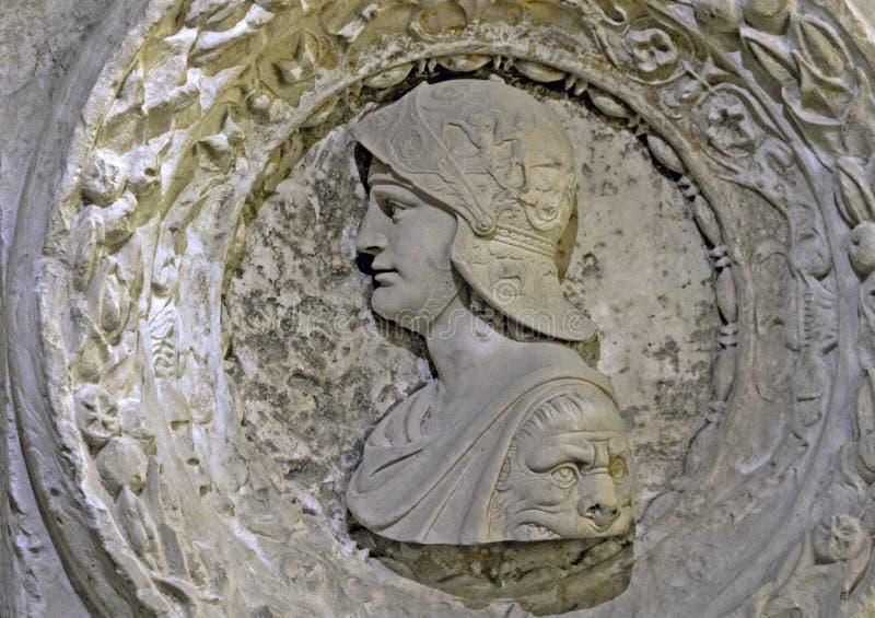 Detalle arquitectónico, castillo francés Chambord fotografía de archivo