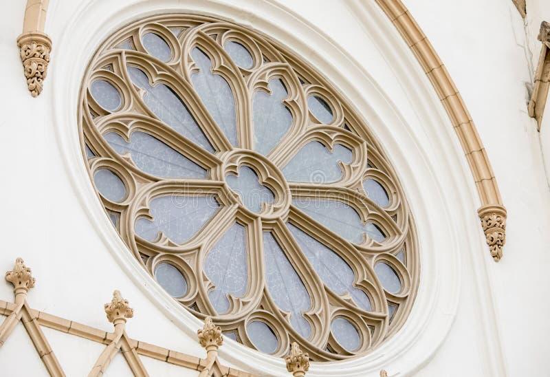 Detalle arquitectónico de la iglesia fotos de archivo libres de regalías
