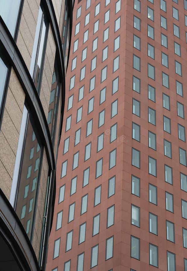 Detalle arquitectónico de un edificio moderno fotos de archivo libres de regalías