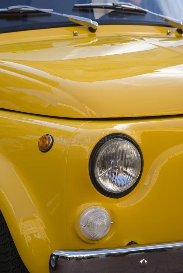 Detalle clásico del coche fotografía de archivo