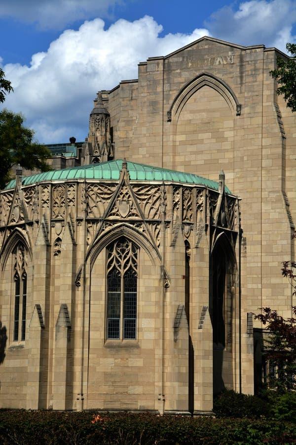 Detalle conmemorativo de la capilla de Stephen Foster fotografía de archivo
